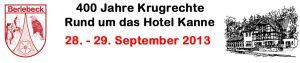 Rückblick 400 Jahre Krugrechte vom 28. und 29. September